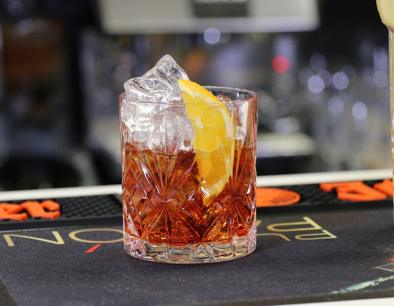 Negroni is famous Italian cocktail and it should be on any bucket list of traditional Italian foods to try in Italy