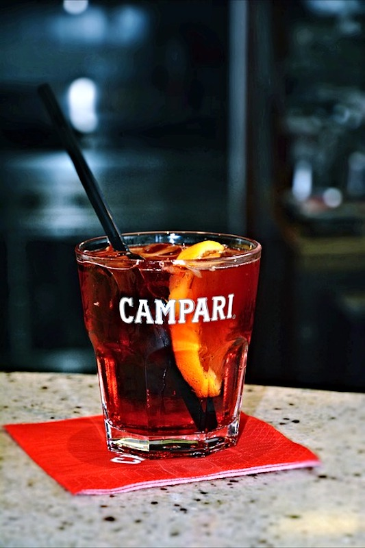 Campari is one of the most popular drinks in Italy