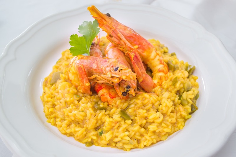 Risotto is traditional Italian dish