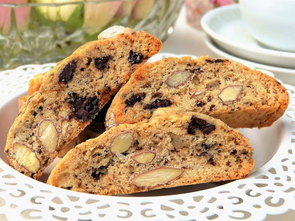 Biscotti are famous traditional foods in Italy
