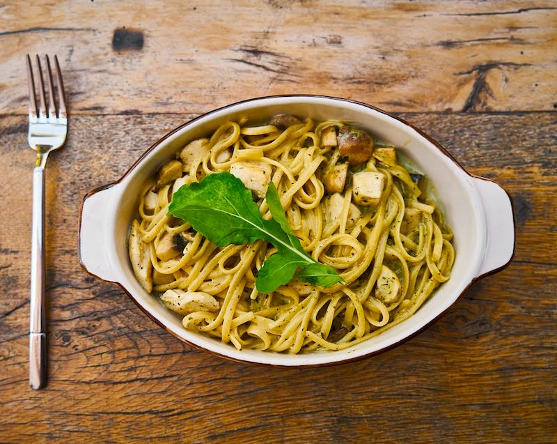 Linguine are famous foods in Italy