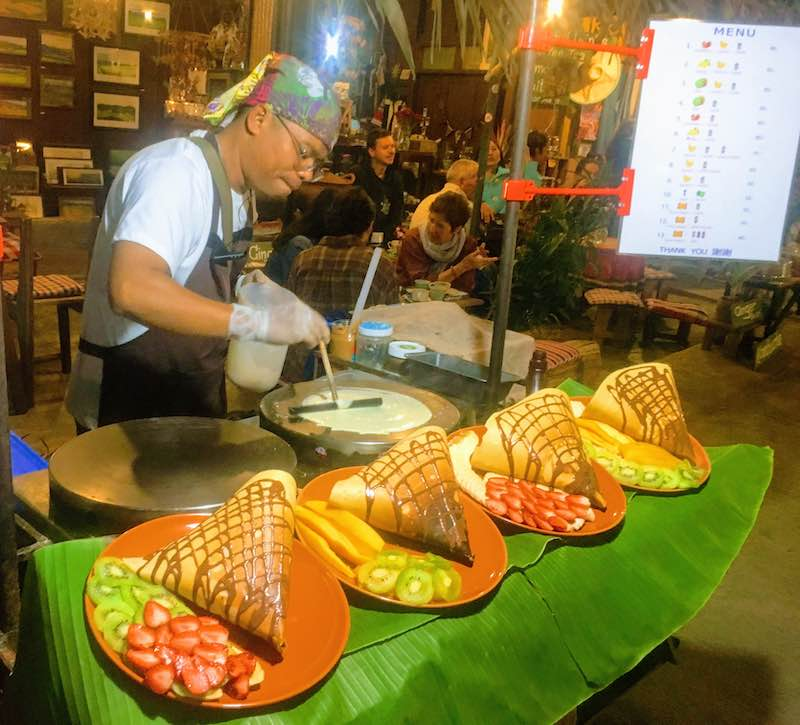 Sampling street food in Thailland is one of the top things to do in Thailand