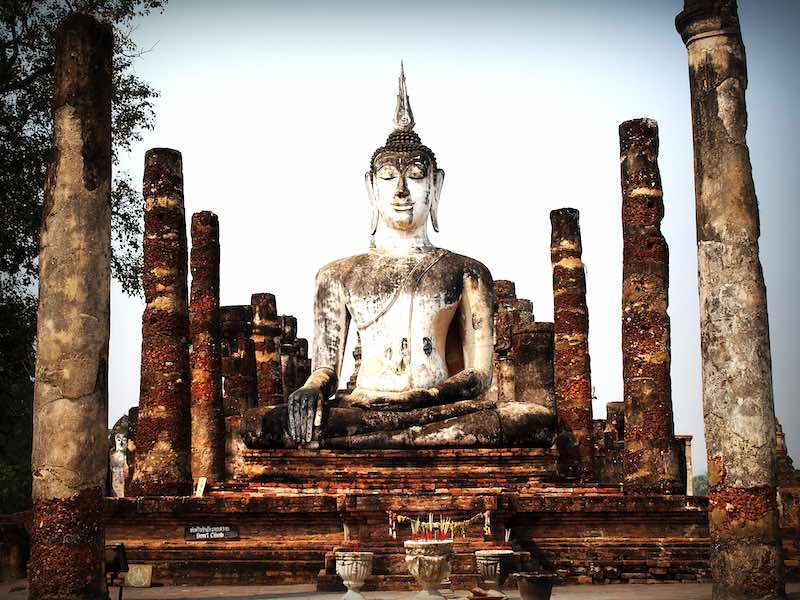 Visiting Sukhothai Historic Parc is one of the top Thailand things to do