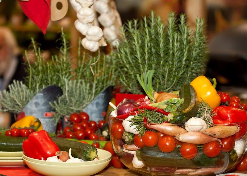 Vegetables in Tuscany are some of the most delicious Tuscan food in Tuscany