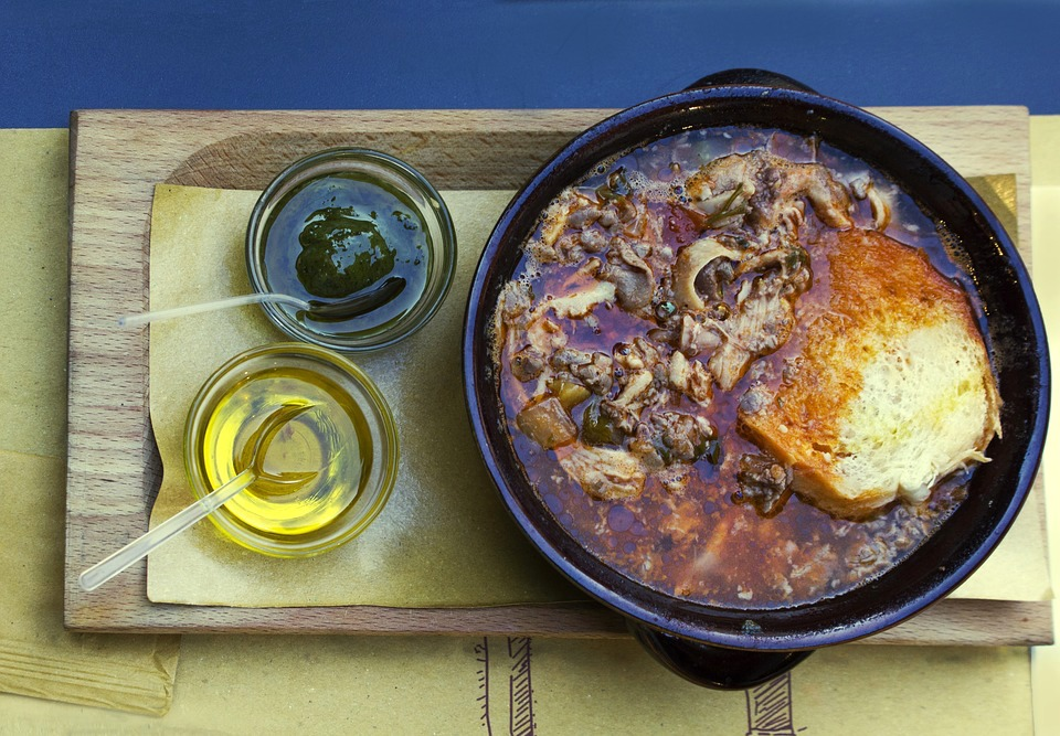 Trippa dish is one of the most popular traditional Tuscan dishes in Tuscany