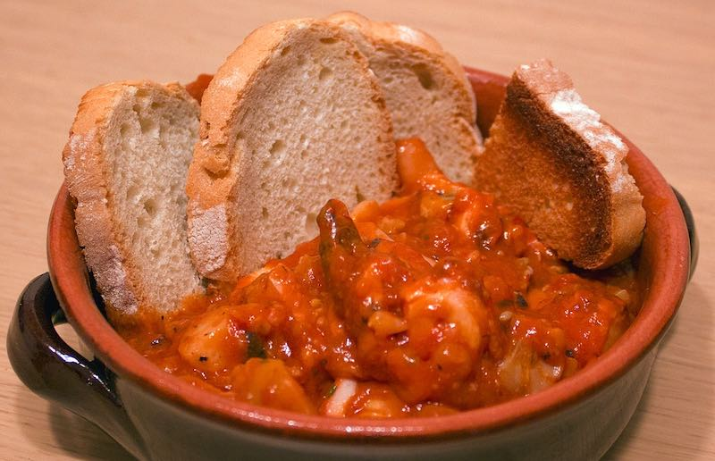 Cacciucco soup is one of the most popular traditional Tuscan food in Tuscany