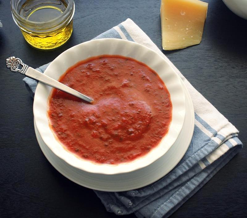 Pappa di Pomodoro soup is one of best traditional Tuscan food in Tuscany