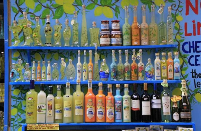 Popular Italian drinks in Italy