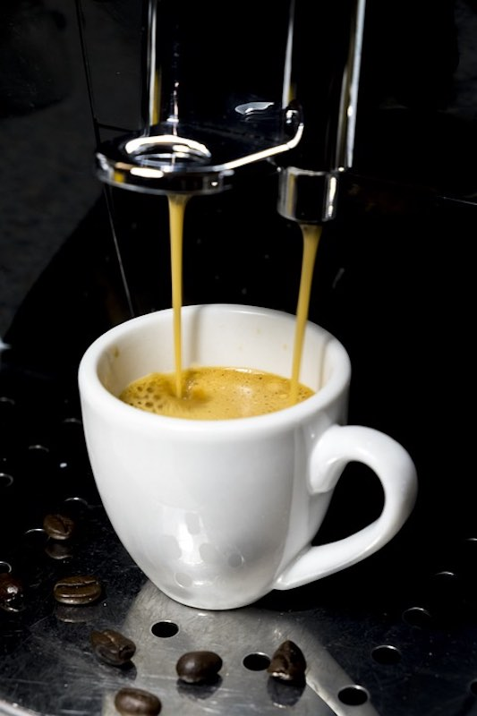 Italian espresso coffee is one of the most popular drinks in Italy