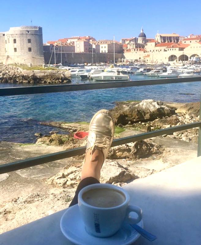 My espadrille sneakers in Dubrovnik