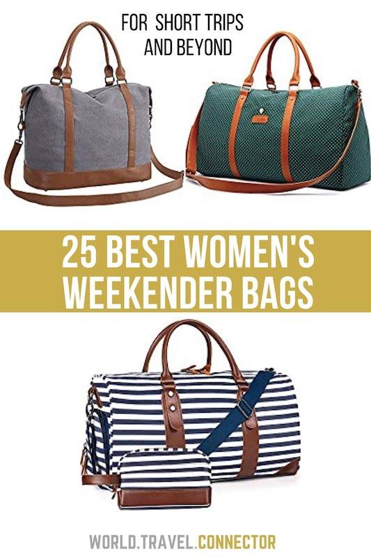 Best womens weekender bags