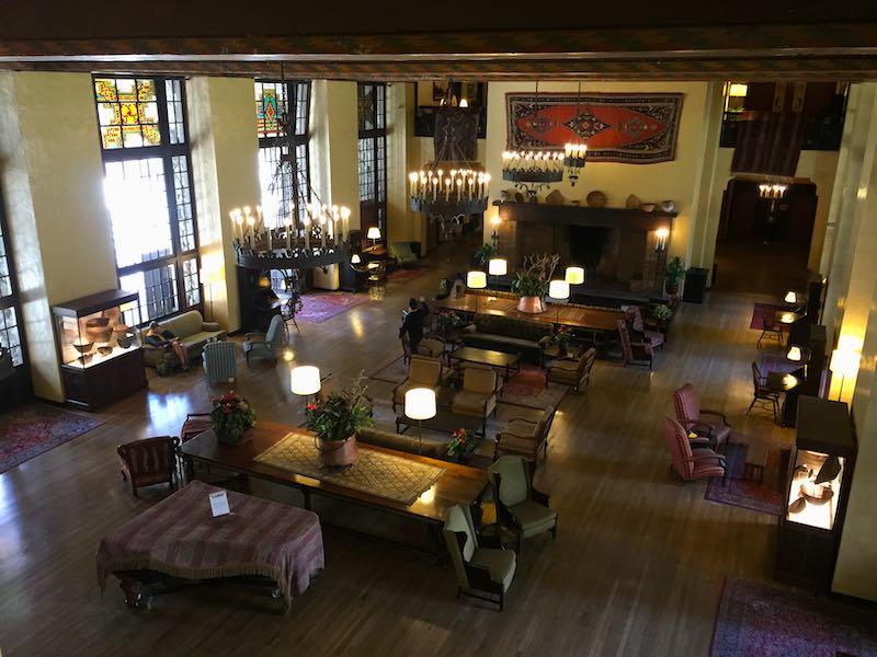 Visiting Ahawhnee Hotel in Yosemite from San Francisco