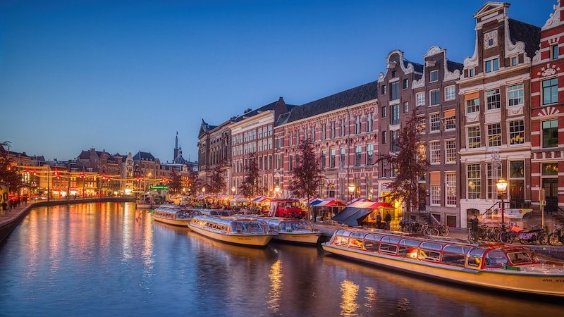 Amsterdam is one of the best places to spend Christmas in Europe