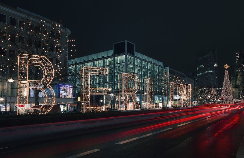 Berlin is one of the best places to spend Christmas in E
