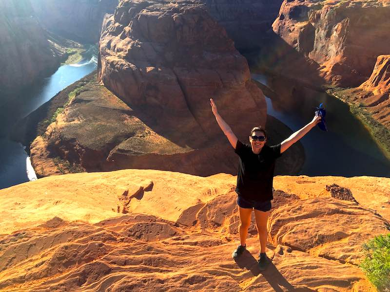 Hiking Horseshoe Bend
