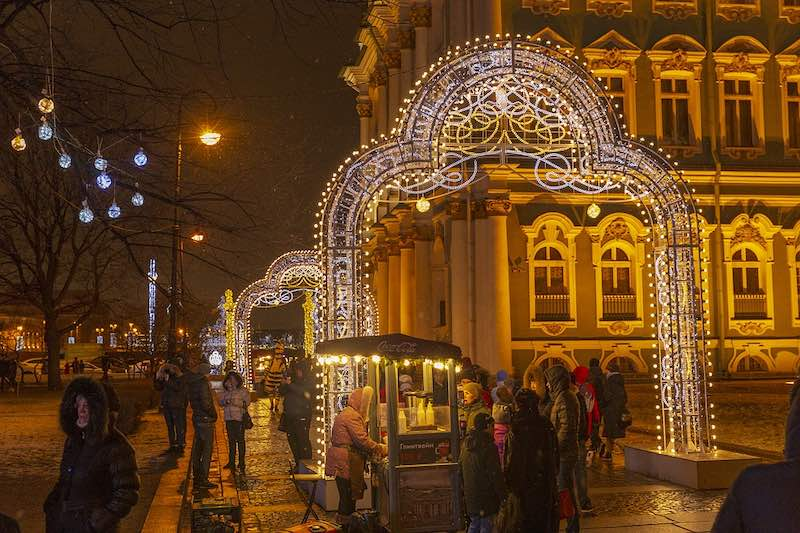 St Petersburg is one of the best places to spend Christmas in Europe