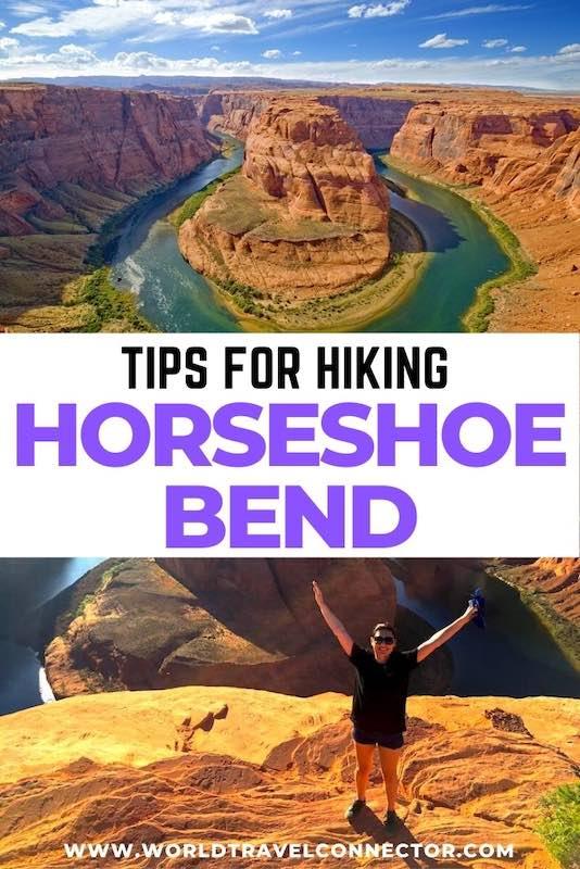 Tips for hiking Horseshoe Bend