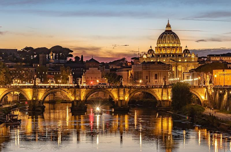 Rome is one of the best places to spend Christmas in Europe