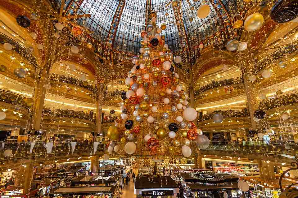 Paris is one of the best places to spend Christmas in Europe
