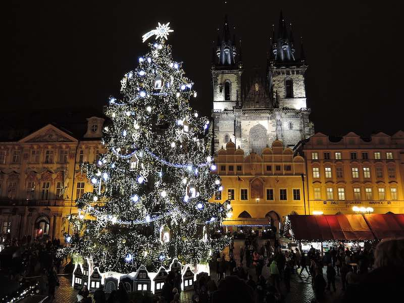 Prague is one of the best places to spend Christmas in Europe
