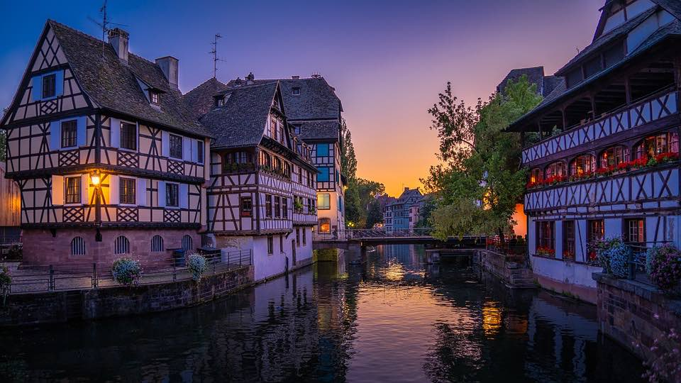 Strasbourg in France is one of the best places to spend Christmas in Europe