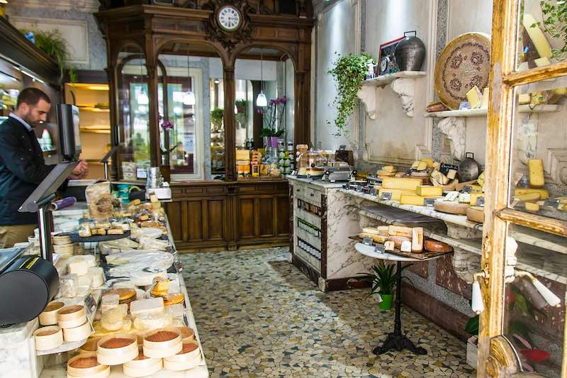 Visiting Parisienne fromageries in one of the best things to do for the best Christmas in Europe