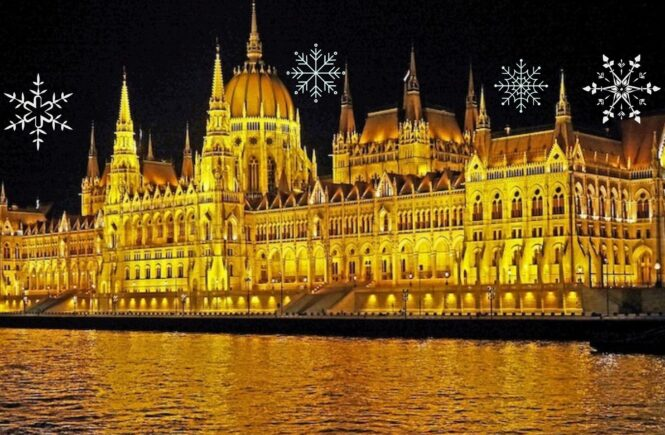 Budapest is one of the best destinations for the best Christmas in Europe