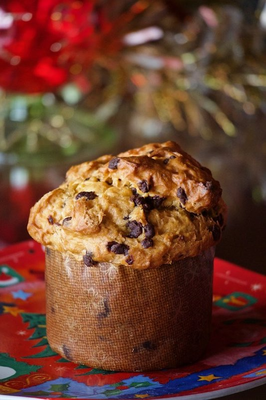 Panettone is a traditional Italian Christmas cake and a must have in Italy in Christmastime for the best Christmas in Europe