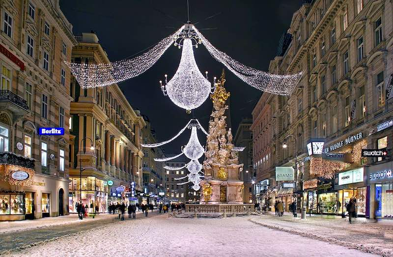 Vienna is one of the best places to  have the best Christmas in Europe