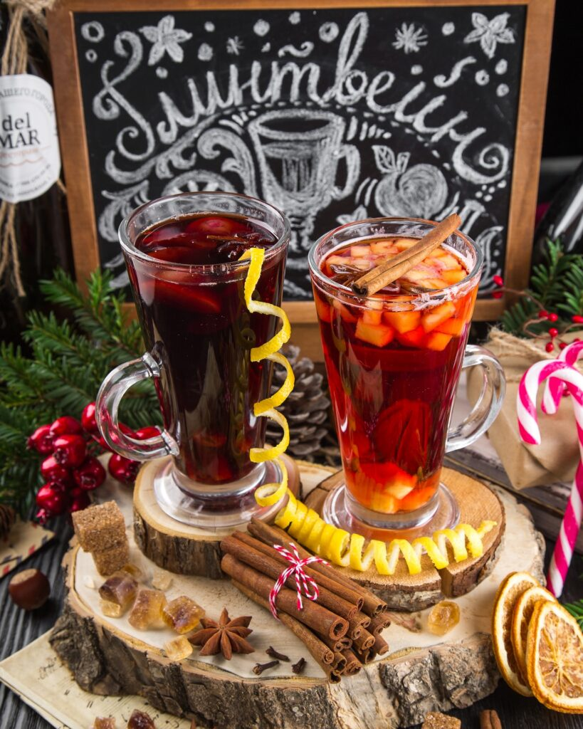 Have glintvein, the Russian mulled wine in St Petersburg and have the best  Christmas in Europe