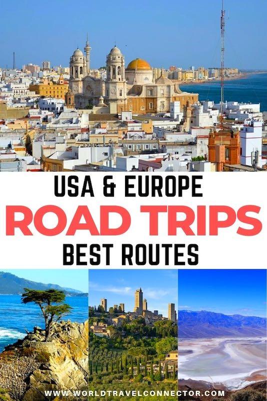 Amazing road trip routes