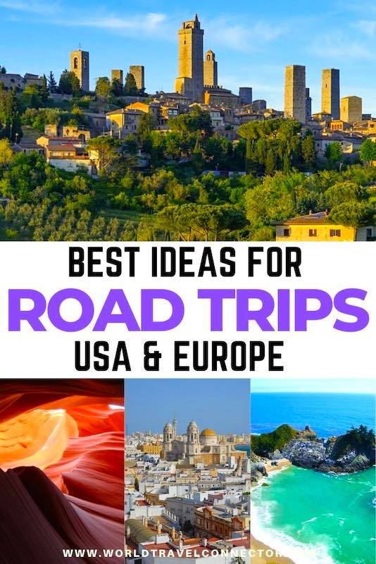 Ideas for best road trips