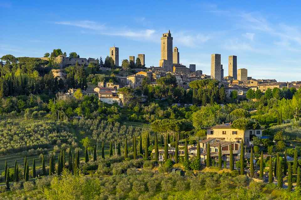 Tuscany road trip is one of awesome ideas for road trips