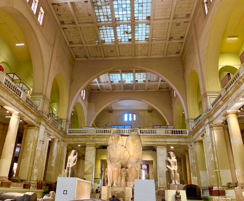 Visiting Museum of Egyptian Antiquities in Cairo is one of the best things to do in Egypt