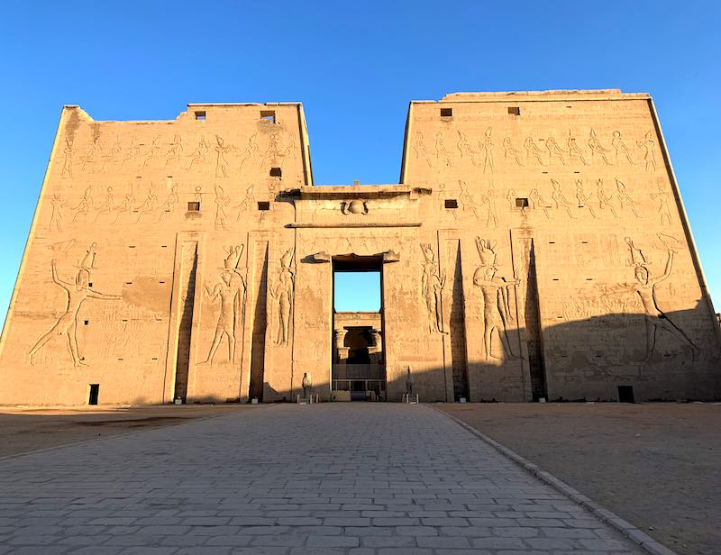 Seeing the Temple of Horus in Edfu is one of the best things to do in Egypt