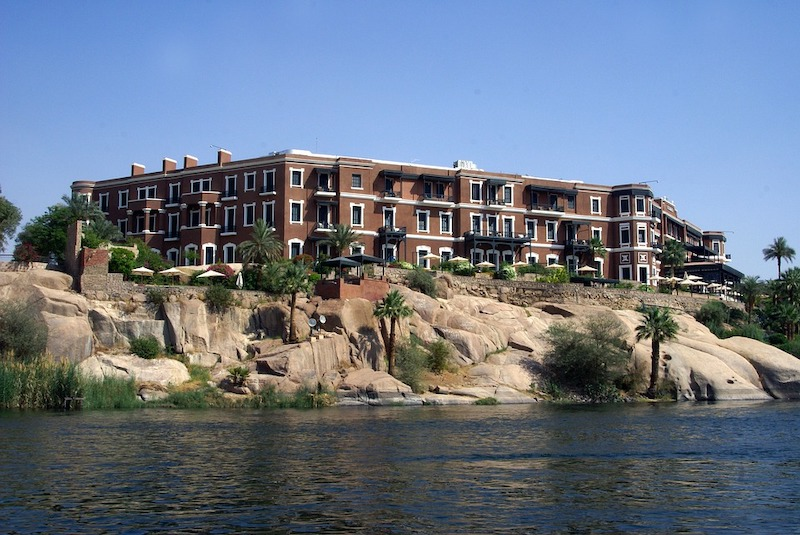 Visiting iconic Old Cataract hotel in Aswan is one of the best things to do in Egypt