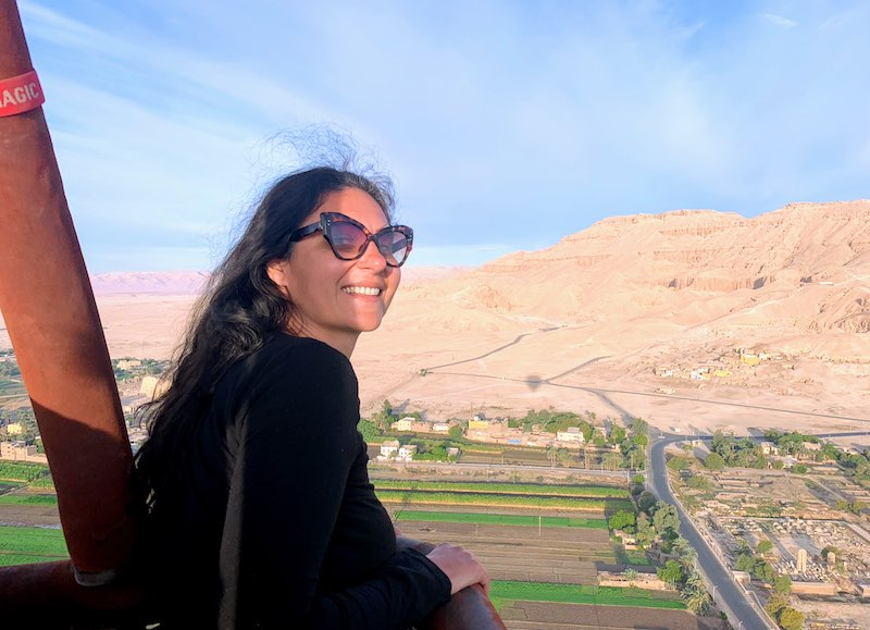 one of the best things to do in Egtpt is to have a hot air balloon ride over the Valley of the Kings in Egypt