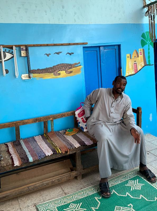 Some of the best things to do in Egypt is to visit a Nubian village and learn about Nubian culture