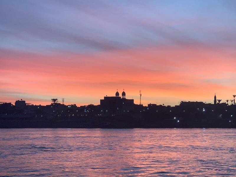 Seeing Luxor in sunrise is one of the top things to do in Egypt