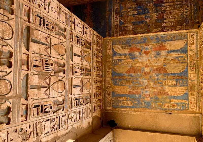 Visiting Medinet Habu Temple is one of the best things to do in Egypt
