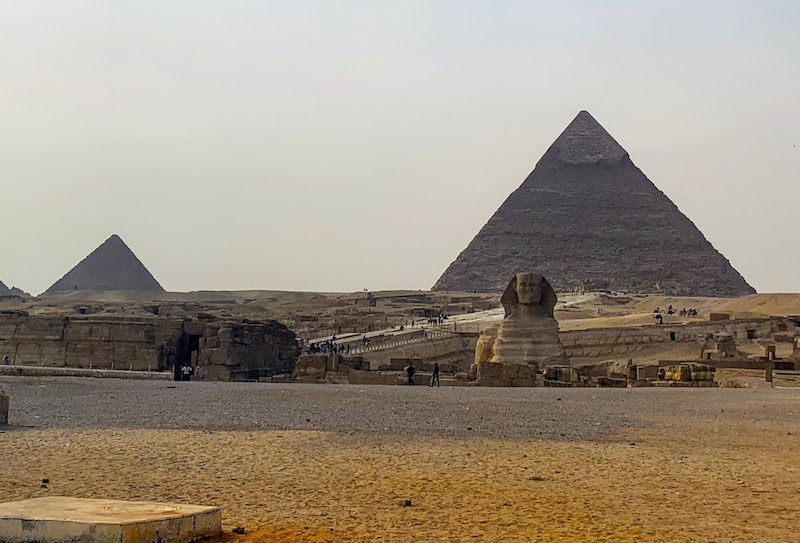 Seeing the Giza Sphinx is one of the best things to do in Egypt