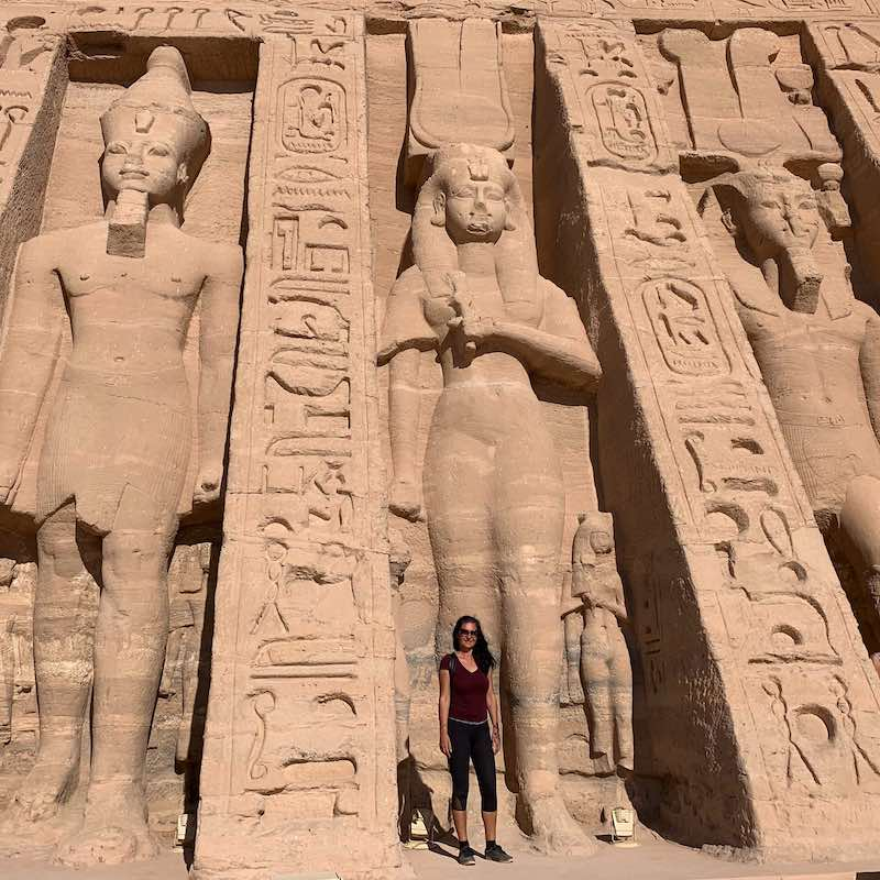 Visiting Abu Simbel temple is one of the best things to do in Egypt