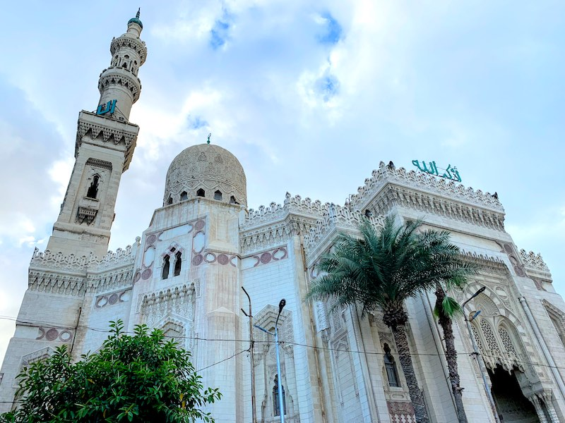 Seeing El-Mursi Abul Abbas Mosque in Alexandria is one of the top things to do in Egypt
