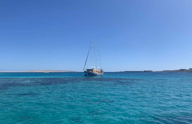 Exploring underwater world of the Red Sea in Hurghada