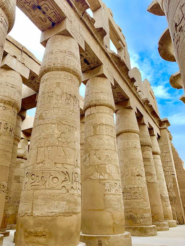 visiting karnak temple is one of the top things to do in egypt