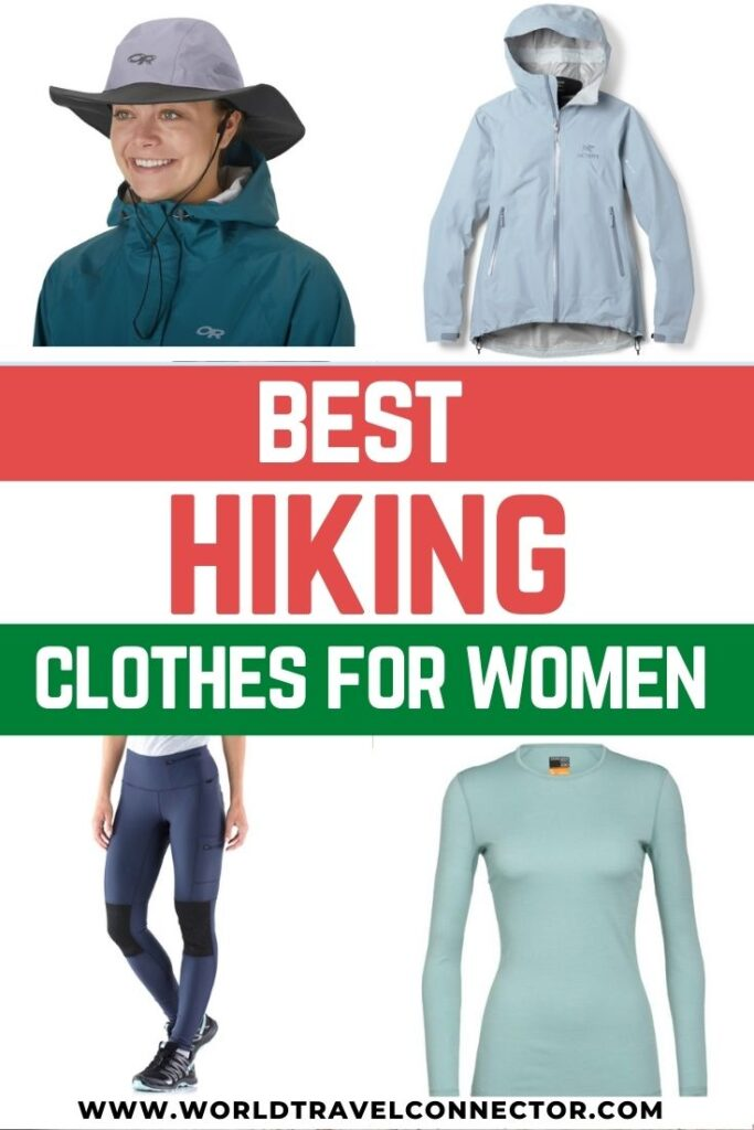 Best hiking clothing for women