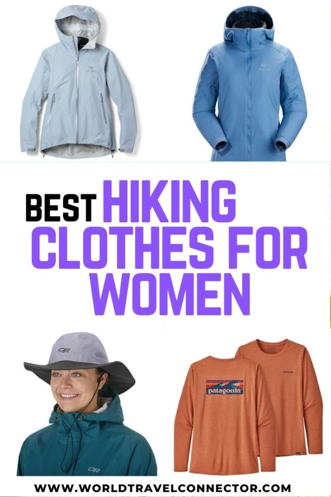 Best hiking clothing for women hikers