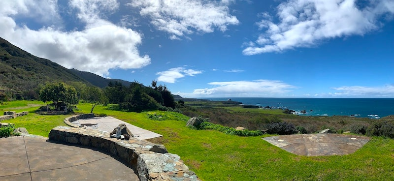 Big Sur Airbnb Stone House