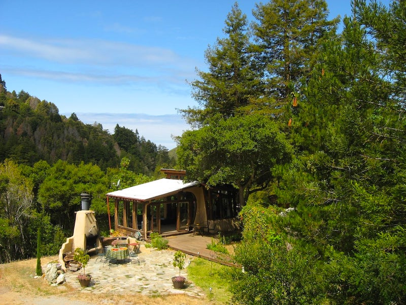 Dream Home is the best airbnb in Big Sur for solo people or couples who enjoy nature