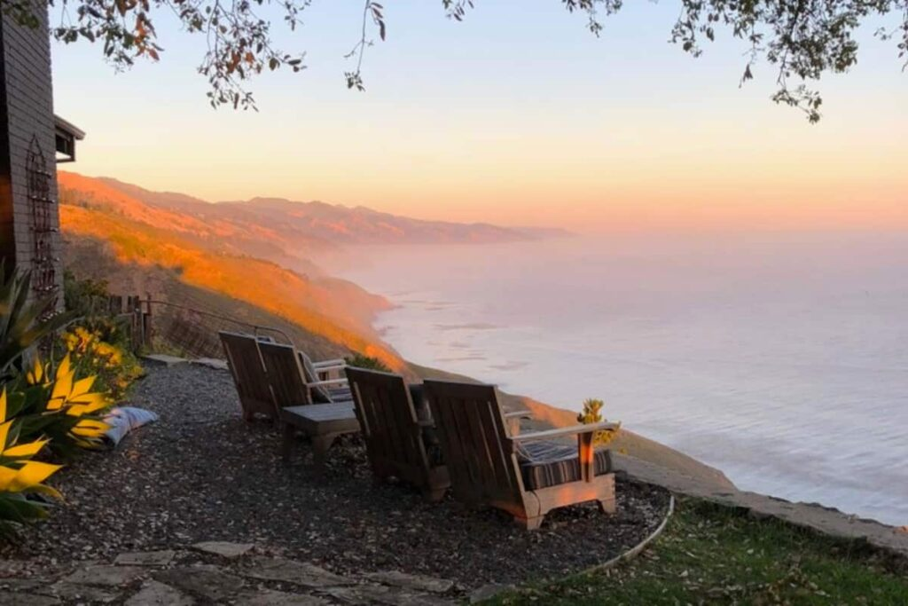 Big Sur airbnb oceanfront ranch house